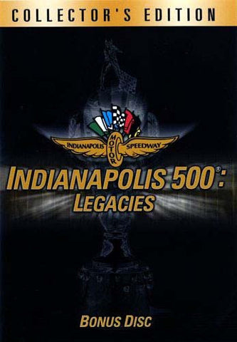 Indianapolis 500: Legacies (Collector's Edition) DVD Movie