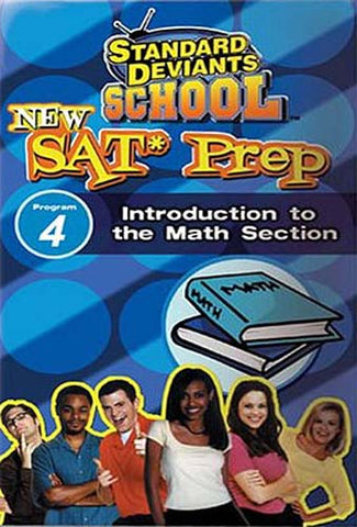 Standard Deviants School - New SAT Prep , Program 4 - Introduction to the Math Section DVD Movie