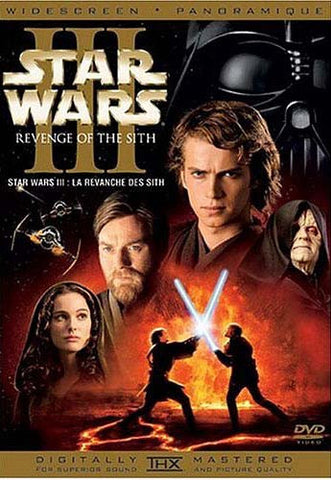 Star Wars: Episode III - Revenge of the Sith (2-Disc Widescreen) DVD Movie