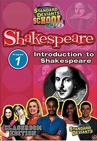 Standard Deviants School - Shakespeare - Program 1 - Introduction to Shakespeare (Classroom Edition) DVD Movie