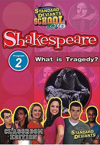 Standard Deviants School - Shakespeare - Program 2 - What Is Tragedy (Classroom Edition) DVD Movie