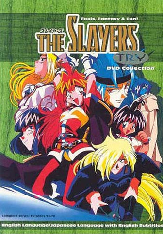 The Slayers - Try DVD Collection Episodes 53 - 78 (Boxset) DVD Movie