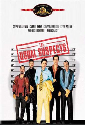 The Usual Suspects DVD Movie