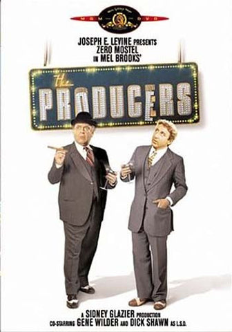 The Producers (Mel Brooks) (1968) DVD Movie