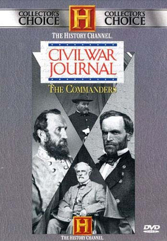 Civil War Journal - The Commanders (Boxset) DVD Movie
