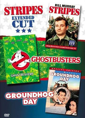 Groundhog Day/Ghostbusters/Stripes (Boxset) DVD Movie
