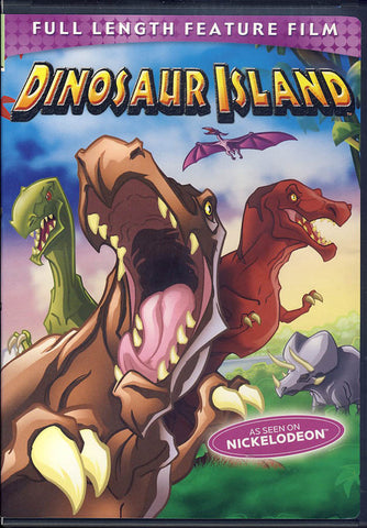 Dinosaur Island (Full Length Feature Film) DVD Movie