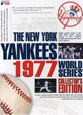 The New York Yankees 1977 World Series Collector's Edition (Boxset) DVD Movie