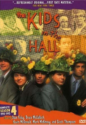 The Kids in the Hall - Complete Season 4 (Boxset) DVD Movie