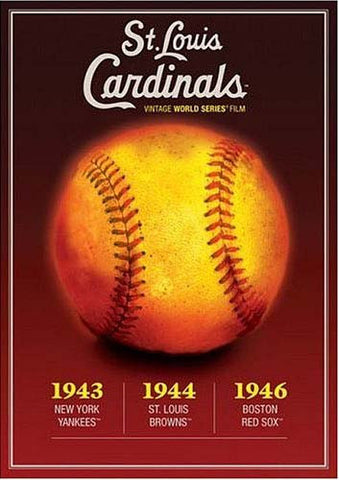 St. Louis Cardinals Vintage World Series Films 1943, 1944 and 1946 DVD Movie
