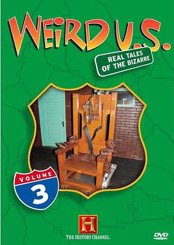 Weird U.S. - Vol. 3 (The History Channel) DVD Movie