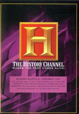 Modern Marvels - Assembly Line - The History Channel DVD Movie
