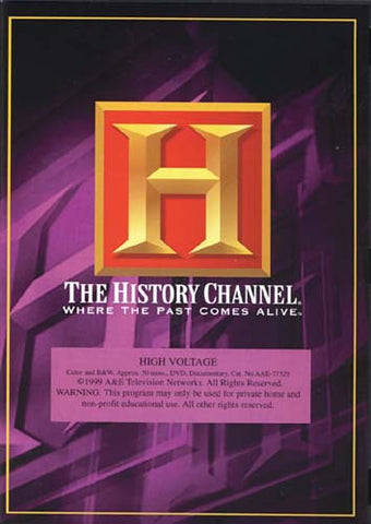 High Voltage - The History Channel DVD Movie