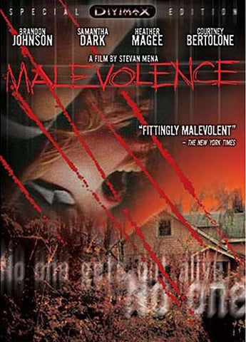 Malevolence (Special DivimaxSeries Edition) DVD Movie