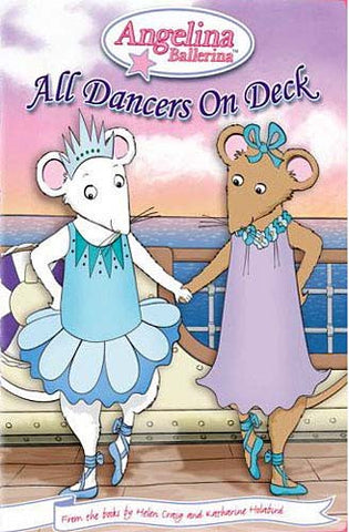 Angelina Ballerina - All Dancers on Deck DVD Movie