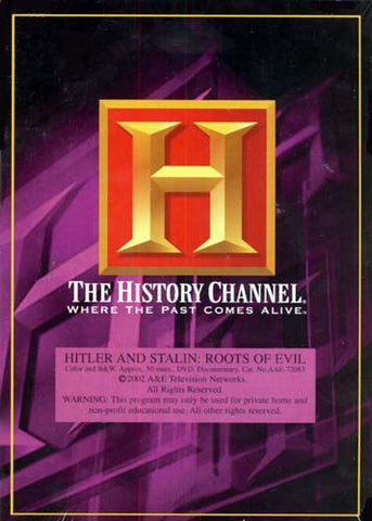Hitler and Stalin - Roots of Evil - The History Channel DVD Movie