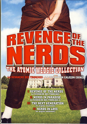 Revenge of the Nerds - The Atomic Wedgie Collection (4-pack)(Bilingual) (Boxset) DVD Movie