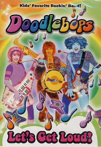 Doodlebops - Let's Get Loud! DVD Movie