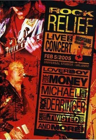 Rock Relief - Live In Concert DVD Movie