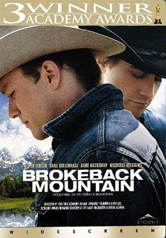 Brokeback Mountain (Widescreen)(Bilingual) DVD Movie