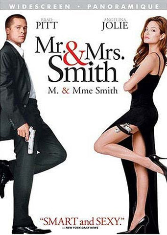 Mr. And Mrs. Smith (Widescreen Edition) DVD Movie