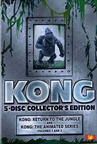 Kong - Animated Series Gift Set (Collector's Edition With Toy) (Boxset) DVD Movie