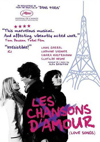 Les Chansons D amour (Love Songs) (Bilingual) DVD Movie