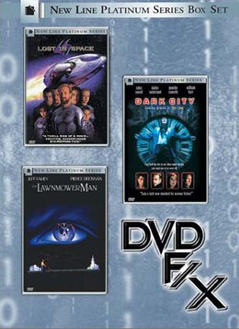New Line Platinum Series Box Set - DVD F/X(Lost in Space/Dark City/The Lawnmower Man) (Boxset) DVD Movie