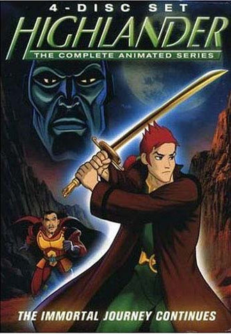 Highlander - The Complete Animated Series - Part 1 and 2 (Boxset) DVD Movie