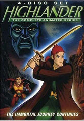 Highlander - The Complete Animated Series - Part 1 and 2 (Boxset)