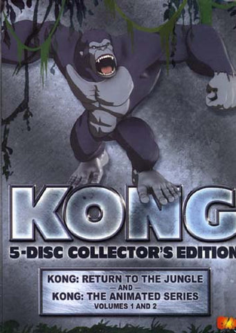 Kong (Collector's Edition) (Boxset) DVD Movie