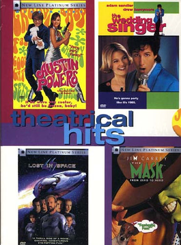 Theatrical Hits - Austin Powers/The Wedding Singer/Lost in Space/The Mask (Boxset) DVD Movie