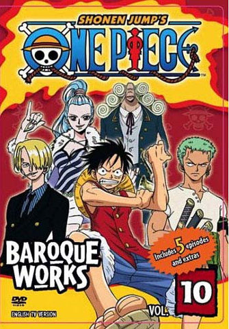 One Piece - Baroque Works, Vol. 10 DVD Movie
