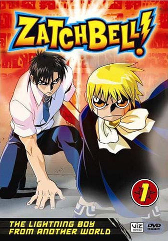 Zatch Bell! - Vol. 1 - The Lightning Boy From Another World DVD Movie