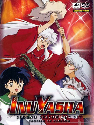 InuYasha - Second Season (2) English TV Version (Boxset) DVD Movie