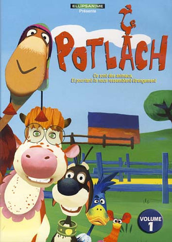 Potlach - Vol.1 (French Cover) DVD Movie