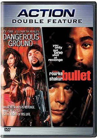 Dangerous Ground / Bullet (Double Feature) (Bilingual) DVD Movie