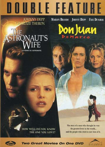The Astronaut s Wife/Don Juan DeMarco (Double Feature) (Bilingual) DVD Movie