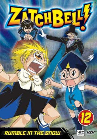 Zatch Bell! - Vol. 12 - Rumble in the Snow DVD Movie