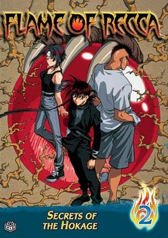 Flame of Recca - Vol. 2 - Secrets of The Hokage DVD Movie