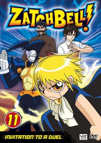 Zatch Bell! - Vol. 11 - invatation to a duel DVD Movie