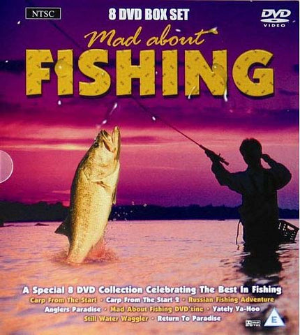 Mad about Fishing (A Special 8 DVD Collection The Best In Fishing)(Boxset) DVD Movie
