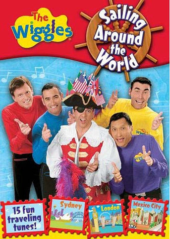 The Wiggles - Sailing Around the World DVD Movie