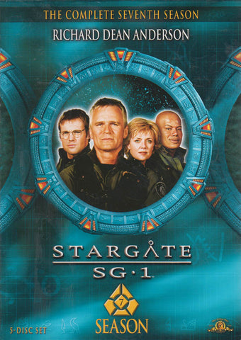 Stargate SG-1 Season Seventh (7) (Boxset) (MGM) DVD Movie