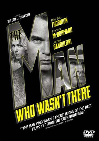 The Man Who Wasn't There DVD Movie