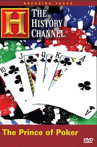 The Prince of Poker (History Channel) DVD Movie