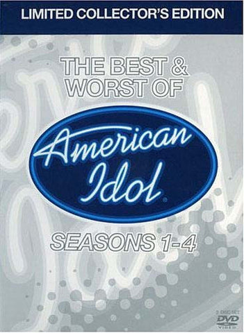 The Best and Worst of American Idol Season 1-4(Limited Collector 's Edition) (Boxset) DVD Movie