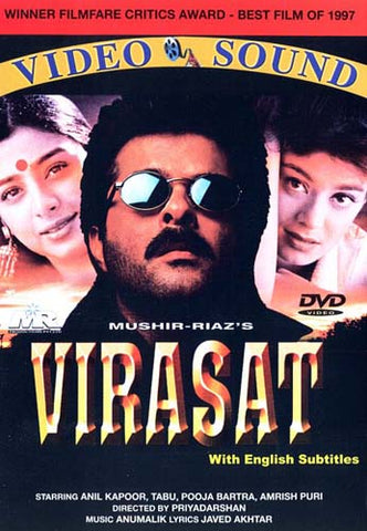 Virasat (Original Hindi Movie) DVD Movie