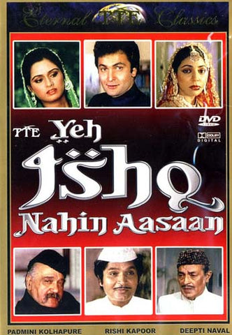 Yeh Ishq Nahin Aasaan (Original Hindi Movie) DVD Movie