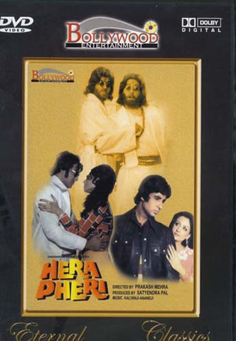 Hera Pheri (Original Hindi Movie) DVD Movie